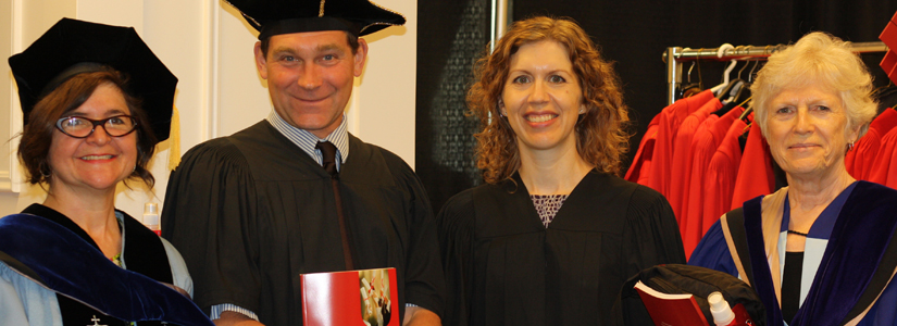 photo from June 2016 Convocation