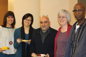 Photo of Faculty Members and Students