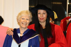 Photo of Faculty Member and Student