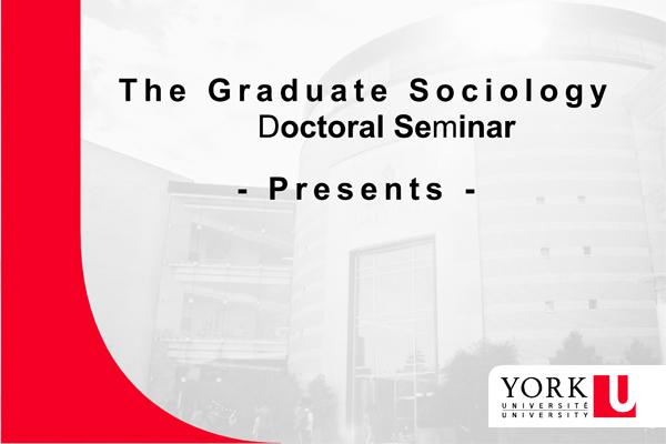 Doctoral Presentation Seminars