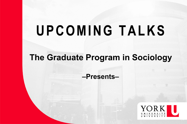 slide promoting upcoming talks