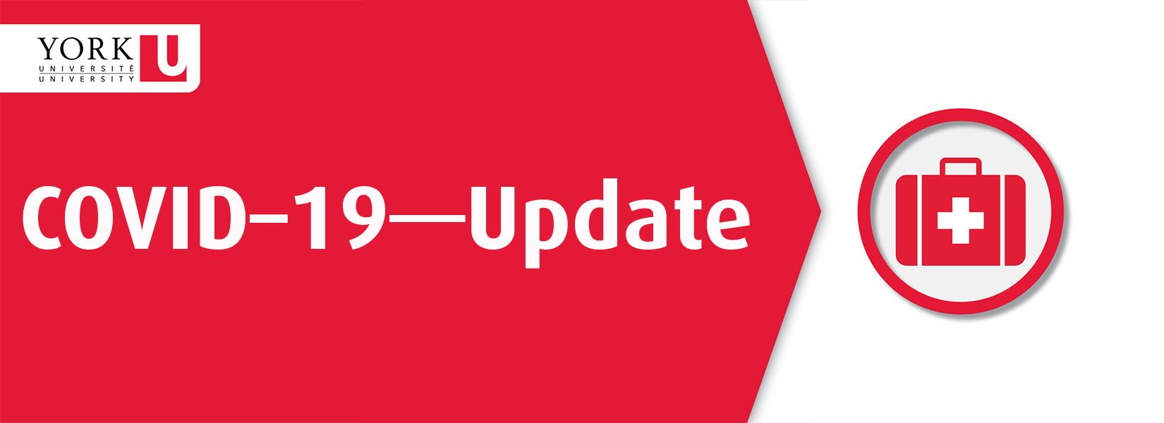 COVID-19 Update graphic