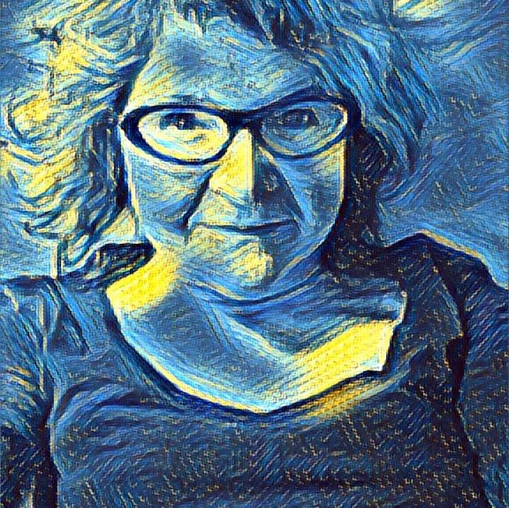stylized photo of Lesley Wood